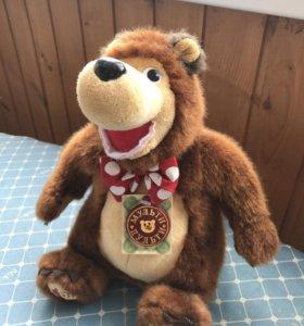 Озвученная мягкая игрушка Медведь из мультика