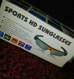 Очки-видеокамера sport HD sunglasses