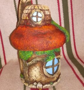 Подарок баночка-домик