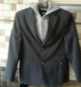 Стильный Школьный пиджак рост 134 см