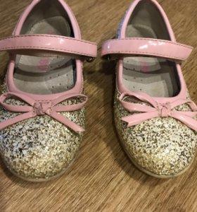 Туфельки для девочки 26 размер