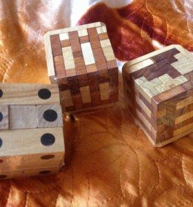 Головоломки новые кубы