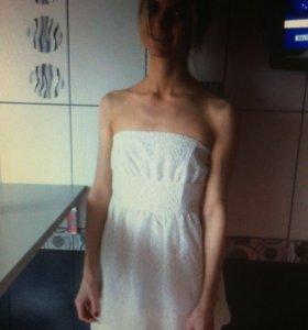 """Нарядное платье цвета""""Айвори"""""""