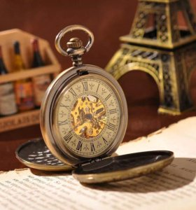 "Карманные часы ""Voguehour Mechanical Watch"""