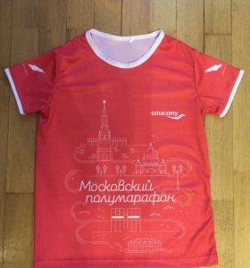 Майка (футболка) спортивная saucony новая