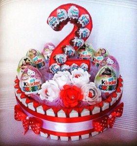 Киндер тортики