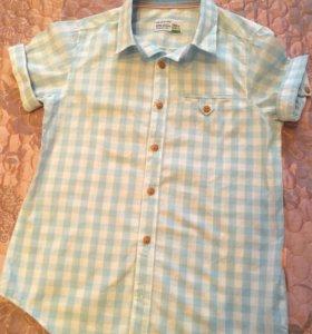 Рубашка хлопок, Reserved, р.140, 350 руб.