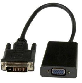 Переходник с DVI-D на VGA