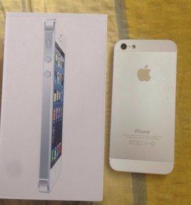 iPhone 5 16 гб White