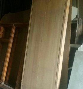 Окна двери новые деревянные
