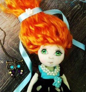 """Интерьерная кукла """" Элина"""""""