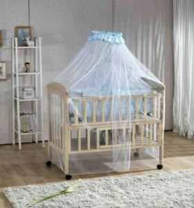 Новый балдахин на детскую кроватку