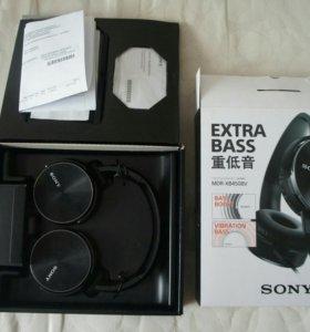 Мощные наушники Sony MDR-XB450BV Vib Bass Booster