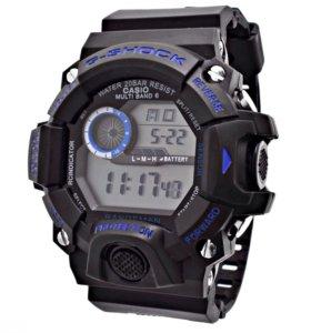 Часы Casio G-Shock реплика черно-синие, модель 1