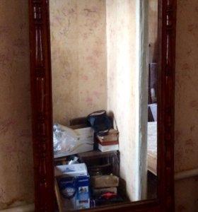 Трюмо с зеркалом старинное раритет