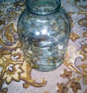 Стеклянные банки на 3 литра