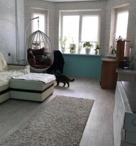 Квартира, 2 комнаты, 59.5 м²