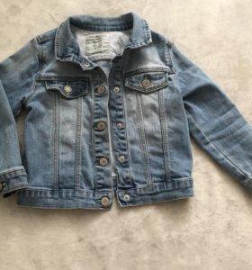 Джинсовая куртка Zara 98