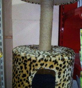 Когтеточка - домик для кошки.