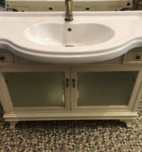 Мебель для ванной с раковиной