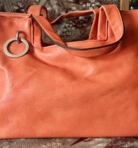 Женская сумка из натуральной кожи👍🏻