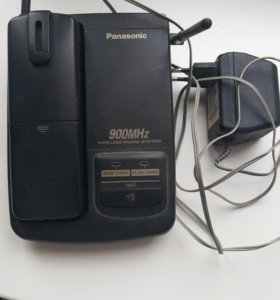 Радиотелефон Panasonic kxt 9511bx рабочий ,б/у ,
