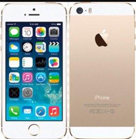 Айфон 5s с отпечатком.