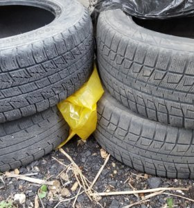 195/55 R15 Bridgestone, Roadstone зима