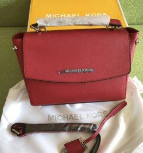 Сумка Michael kors Ava red