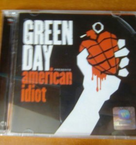 "диск Green Day ""American Idiot"""