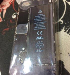 Чехол iPhone 5s ,,вид изнутри''