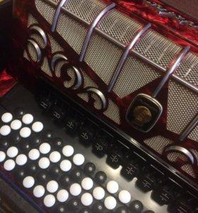 Баян (аккордеонированный) WELTMEISTER GRANDINA