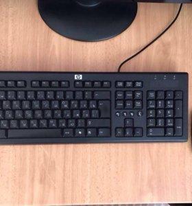 Клавиатура и мышь HP, USB-WiFi приёмник TP-Link