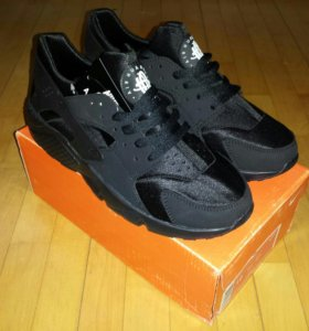 Кроссовки Nike Air Huarache Triple Black Новые