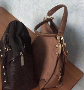 Продам кожаные сумки