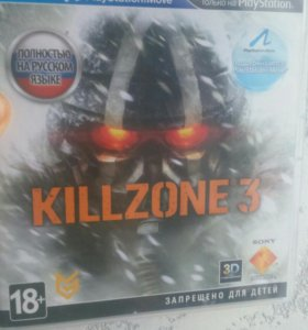Игра на play station 3 KILLZONE 3