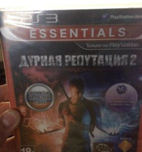 Продам игру на PlayStation 3 дурная Репутация 2