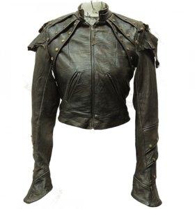 Куртка с винтажной обработкой