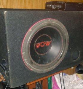 Сабвуфер Prology WoW-12 Усилитель Prology CA-200