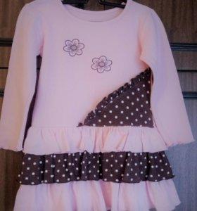 Платье на девочку р. 92