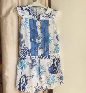 Новое Платье на рост 110