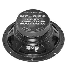 Автомобильные динамики ALPHARD MC-6.2A