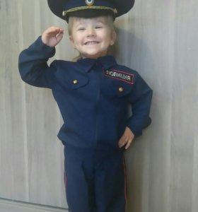 Костюм полицейского детский
