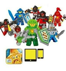 Лего nexo knights