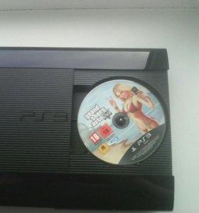 PS3+GTA5+2джойстика