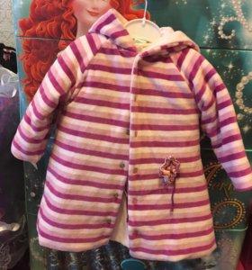 Пальто с платьем внутри