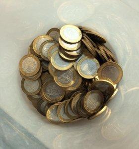 261 монета биметалл юбилейные