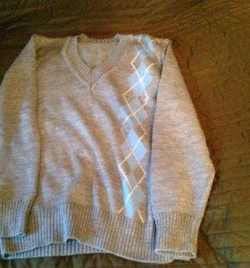 Джемпер и жилетка для мальчика