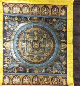 Тханка мандала Будды