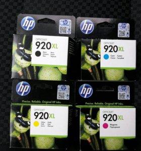 Картриджи для цветного принтера HP